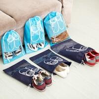 旅行收纳袋鞋子衣物整理袋鞋袋衣服抽绳袋束口袋旅游行李箱布袋子