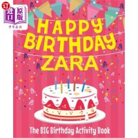 【中商海外直订】Happy Birthday Zara - The Big Birthday Activity Boo