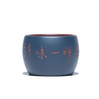 宜兴原矿紫砂手工双色品茗杯小杯主人杯功夫茶杯茶碗茶盏