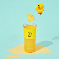 九阳(Joyoung) LINE联名莎莉鸡榨汁机家用水果小型便携式电动多功能迷你果汁杯榨汁杯 L3-C86XL(SALL