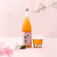 网易严选 梅子酿酒一杯春 日本柚子梅酒樱花限定720ml