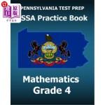 【中商海外直订】Pennsylvania Test Prep Pssa Practice Book Mathemati
