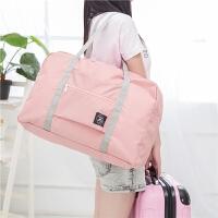 20180827004043728旅行袋手提女便携折叠收纳包大容量行李袋健身包男可套拉杆行李箱 大