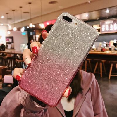 渐变闪粉华为nova4手机壳女nova2硅胶nova2s简约nova2plus潮牌女款华为p30个性 Nova2 粉色