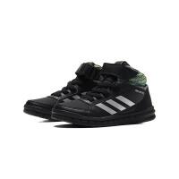 adidas童男小童儿童鞋2018新款高帮板鞋休闲运动鞋AP9934