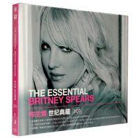 正版现货 布兰妮Britney Spears:世纪典藏 2CD 历年专辑封面贴纸