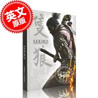 现货 只狼影逝二度官方游戏攻略指南 英文原版Sekiro Shadows Die Twice Official Gam