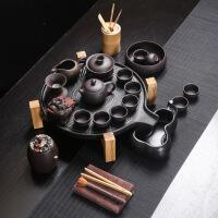 宜兴紫砂功夫茶具套装紫砂茶具套组整套手工陶瓷茶壶茶杯盖碗家用