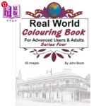 【中商海外直订】Real World Colouring Books Series 4