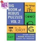 【中商海外直订】Big Book of Rebus Puzzles Volume 2