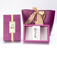 阿胶糕包装礼品盒手工固元膏礼盒手提袋装阿胶糕的空盒子