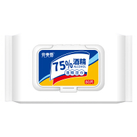 [学生开学必备】完美爱 75%酒精湿巾80抽 杀菌除菌 更健康
