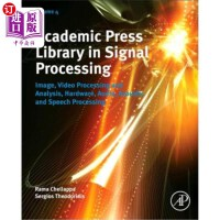 【中商海外直订】Academic Press Library in Signal Processing: Image,