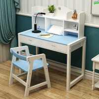 儿童学习桌小学生书桌实木可升降小孩作业桌家用课桌写字桌椅套装