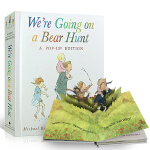 顺丰发货 英文原版绘本 We're Going on a Bear Hunt: A Celebratory Pop-u