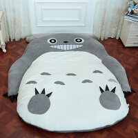 龙猫榻榻米 懒人床龙猫懒人沙发床单双人卡通榻榻米床垫可爱卧室小沙发睡袋情侣