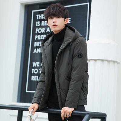 棉衣男士冬季外套短款新款工装羽绒棉服韩版潮流帅气冬装棉袄