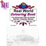 【中商海外直订】Real World Colouring Books Series 27