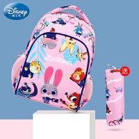 迪士尼�和�背包一二三年�女孩幼��@公主�o脊�p�女童��包小�W生
