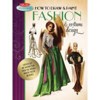 【预订】How to Draw & Paint Fashion & Costume Design