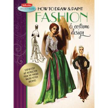 【预订】How to Draw & Paint Fashion & Costume Design 预订商品,需要1-3个月发货,非质量问题不接受退换货。