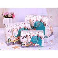 宝宝满月喜蛋盒礼盒包装盒百日宴喜糖袋大号生日回礼伴手礼手提袋1
