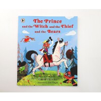 英文原版绘本The Prince and the Witch and the Thief and the Bears