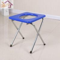 家居用品208 坐便椅子式可折叠厕所移动马桶座椅孕妇坐便器老人蹲坑改拉屎凳子
