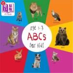 【中商海外直订】ABC Animals for Kids age 1-3 (Engage Early Readers: