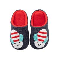 儿童拖鞋居家地板可爱毛毛鞋fang滑室内男女宝宝家居鞋