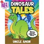 【中商海外直订】Dinosaur Tales: Stories, Games, Jokes, and More!