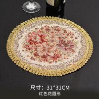 餐垫布艺杯垫花瓶垫装饰垫台灯垫麻餐桌垫餐布烟灰缸隔热垫欧式