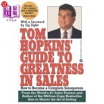 【中商海外直订】Tom Hopkins Guide to Greatness in Sales: How to Bec