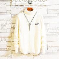冬季高领毛衣男韩版宽松型百搭秋冬款潮流加厚保暖帅气打底针织衫