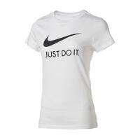 NIKE耐克 女装 运动休闲透气圆领短袖T恤 CI1384-100
