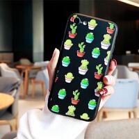 仙人掌手机壳苹果7plus手机壳女款韩国潮牌iphone6s手机壳8x硬壳