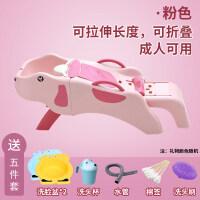 小孩子洗头发躺椅 大号儿童洗头躺椅可折叠婴儿洗发椅架小孩洗头床家用宝宝洗头神器