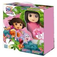 爱冒险 爱探险的朵拉1(25DVD)中英双语 附朵拉智能说话娃娃