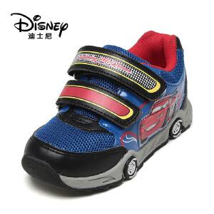 【达芙妮超品日 2件3折】鞋柜/迪士尼春秋透气网状儿童童鞋卡通造型男鞋