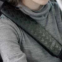汽车用品加长安全带套可爱车用保险带护肩套车饰品