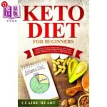 【中商海外直订】Keto Diet for Beginners: A friendly step by step gu