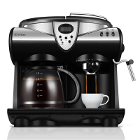 Donlim/�|菱 DL-KF7001美式咖啡�C家用小型商用意式全半自�幽膛�