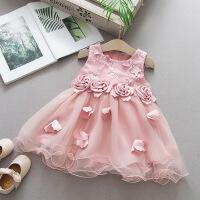 童装女童夏装连衣裙0-1-2-3岁婴幼儿童吊带背心裙子女宝宝公主裙