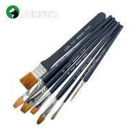 马利水粉颜料考试套装画笔7支套装 马利水粉画笔 油画画笔 G1927