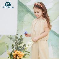 【618年中庆 2件3折价:72】迷你巴拉巴拉女童套装2020夏装新款儿童女宝宝短袖背心洋气童装