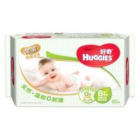 好奇婴儿金装湿巾 清爽洁净倍柔 手口可用 80抽 单包装