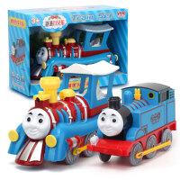 托马斯和朋友越诚小火车惯性玩具车套装儿童大号火车头1-3岁 玩具 +B款