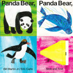 Panda Bear, Panda Bear, What Do You See 熊猫,熊猫,你看到了什么?(卡板书) ISBN9780312515812