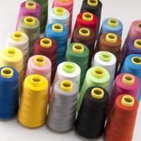 缝纫线家用大卷缝纫机线彩色针线细线缝衣线线团衣服的手缝专用