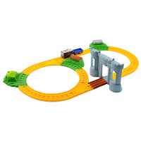 [当当自营]托马斯和朋友 电动火车系列 托比寻宝大冒险套装 儿童情景轨道玩具 BMF07